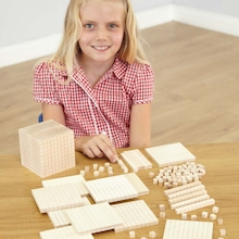 Wooden Base Ten Set 121pcs  medium