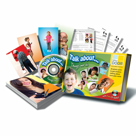 Talk About Prepositions Photo Discussion Cards A5  large