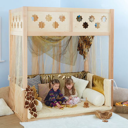 Super Seat Indoor Wooden Den Structure  large