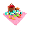 Soft Role Play Picnic Basket with Fabric Food  small