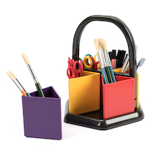 Coloured Handi Holder Art Caddy  medium
