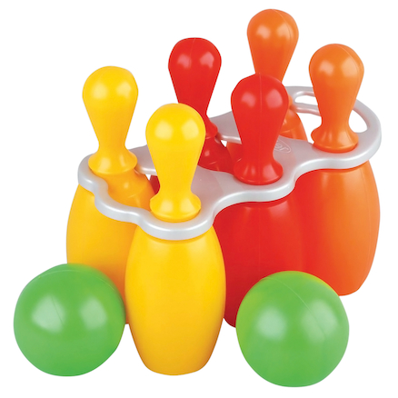 6 Plastic Skittles and 2 Balls Set  large