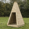 Outdoor Wooden Teepee  small