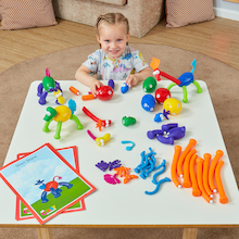 Crazy Creatures Construction Set 66pcs  medium