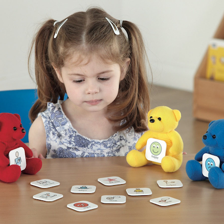 Talking With Teddies Visual Instruction Tiles  large