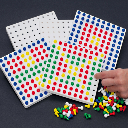 Colourful Peg Boards Pack  large