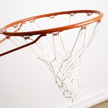 Wall Mounted Basketball Ring and Net  medium