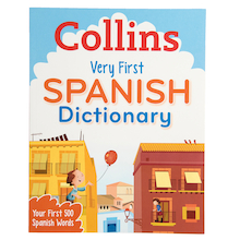 Collins Very First Spanish Dictionary  medium