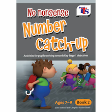 No Nonsense Number Catch Up Book  medium
