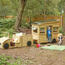 Outdoor Wooden Truck and Caravan Special Offer  medium