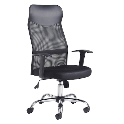 Aurora Black Mesh Operator Chair  large