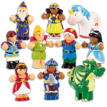 Small World WOW Fantasy Fairy Tale Figures 10pcs  medium