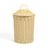 Woven Nesting Storage Baskets with Lids 3pk  small