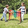 Double Sided Outdoor Boomwhacker Frame  small