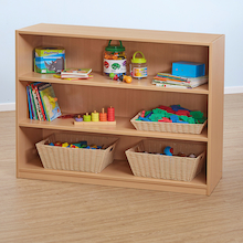 Classic Beech Shelving Unit  medium
