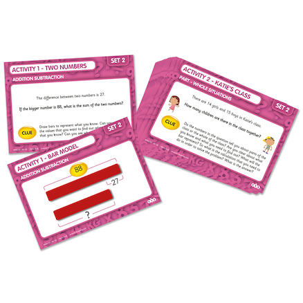 Bar Model Activity Cards Buy all and Save  large