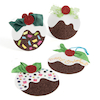 Christmas Pudding Cards  small