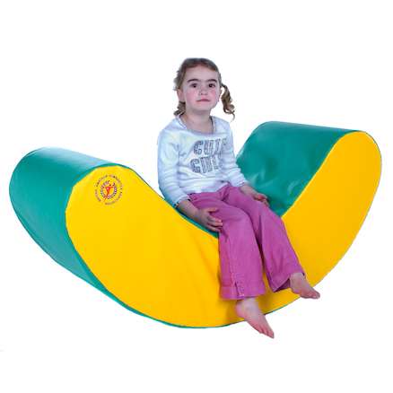 Soft Banana Gym Rocker L119 x W61 x H45cm  large