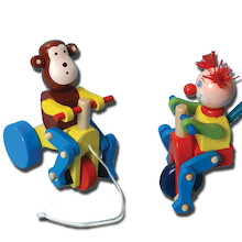Wooden Push And Pull Toys 2pk  medium
