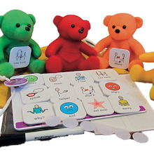 Talking With Teddies Visual Instruction Tiles  medium