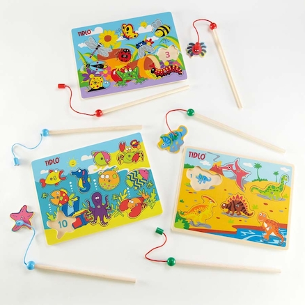 Magnetic Fun Fishing Jigsaw Puzzles  large