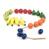 Wooden Threading Fruits  small