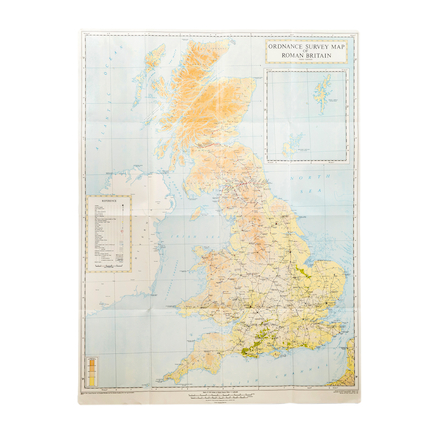 Roman Britain Map A0  large