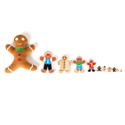Gingerbread Family Maths Counter and Sorting Kit  large