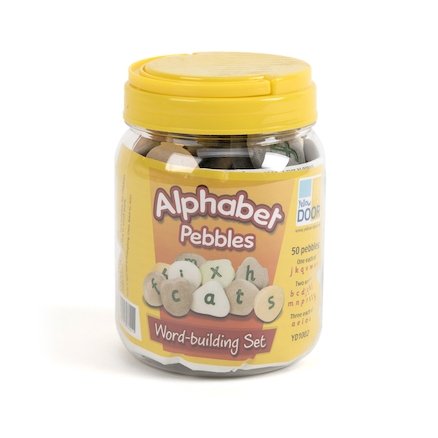 Resin Alphabet Pebbles Wordbuilding Set  large