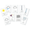 Weather French Vocabulary Flashcards A4 9pk  small