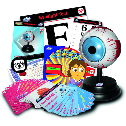 Eye Model and Ophthalmology Resources Kit  large