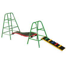 Outdoor Balance Gym Climbing Frame Set  medium