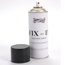 Fixative Spray Aerosol  medium