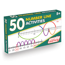 50 Number Lines Activities  medium