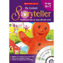 Pie Corbett's Storyteller Teacher's Books  medium