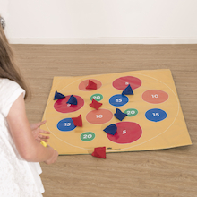Double Sided Target Mat  medium