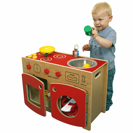 Toddler Role Play Kitchen Unit  large