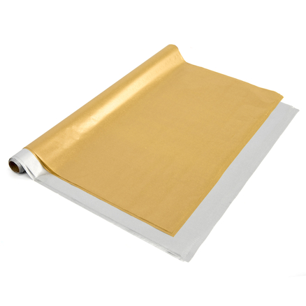 Tissue Paper Gold \x26 Silver 24pk  large