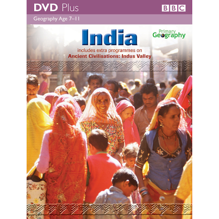 Indian Culture Cross Curricular DVD  large