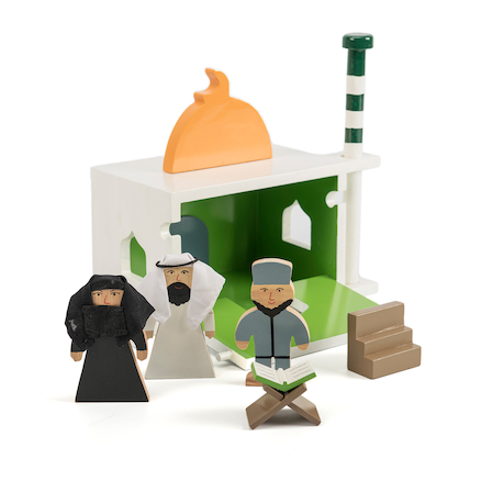 Wooden Model Mosque  large