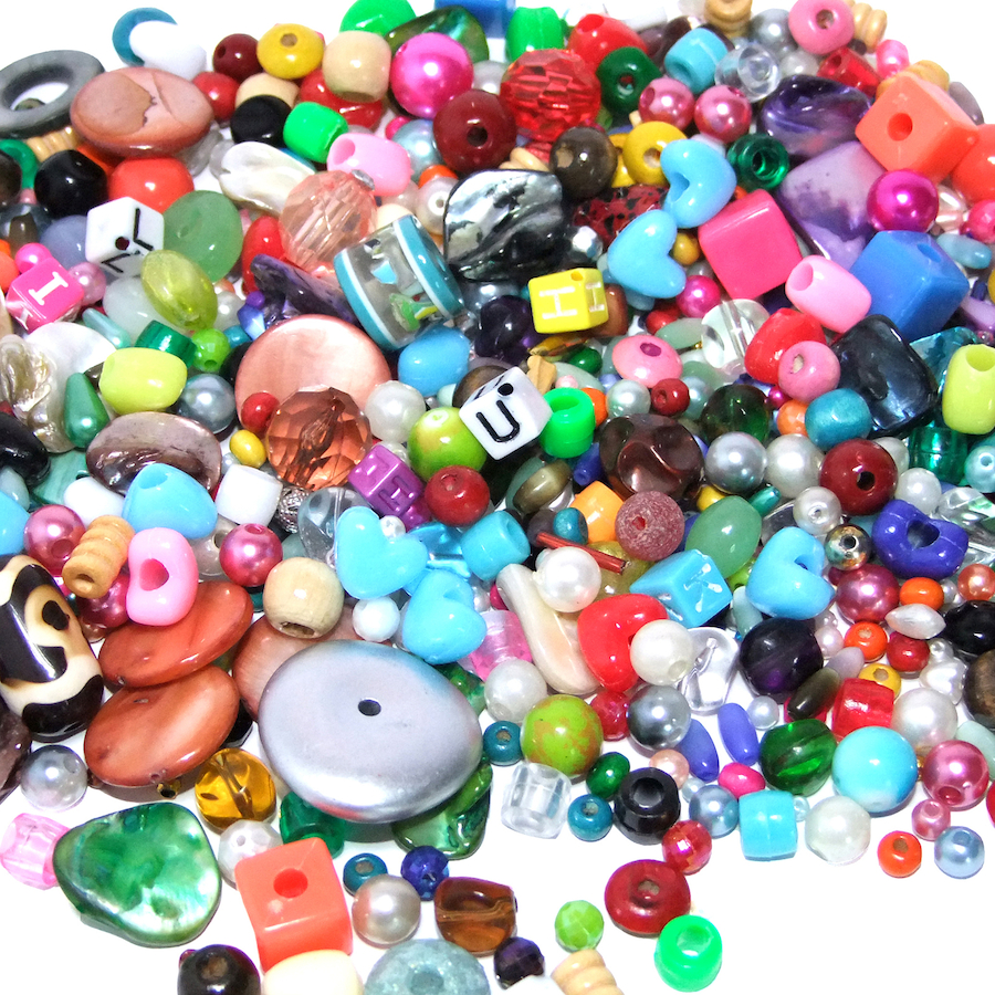 Buy Mixed Beads Pack 500g