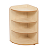 Solway Early Years 3 Shelf Corner Storage Unit  small