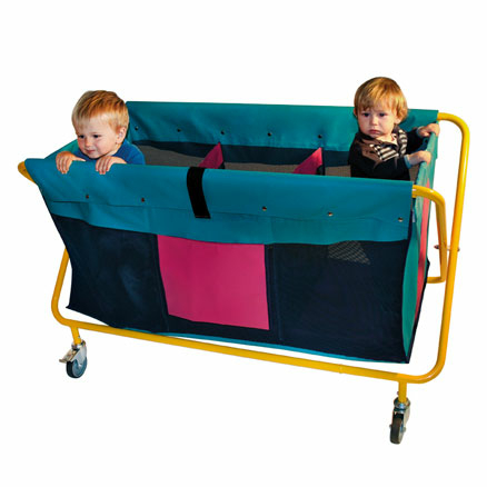 Nursery Evacuation Trolley  large