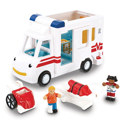 Wow Toys Emergency Services Vehicle 3pk  large