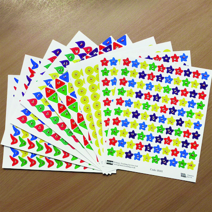 Expressions Reward Stickers 500pk  large