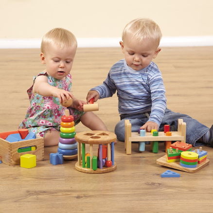 Pack of Wooden Toddler Toys  large