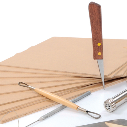 Wooden Cutting and Modelling Boards 30 x 20cm 10pk  large
