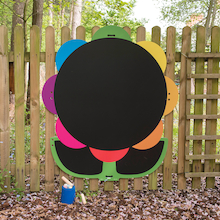 Giant Mark Making Chalkboard Daisy  medium