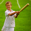 Traditional Wooden Rounders Bat  small