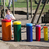 Outdoor Rainbow Samba Drums  small